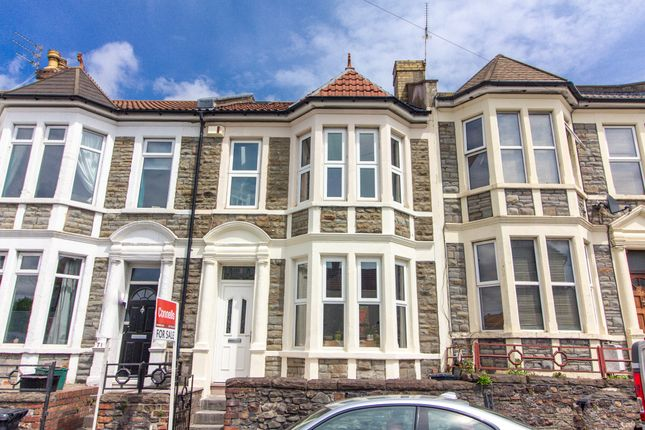 Thumbnail Terraced house for sale in Bell Hill Road, St. George, Bristol
