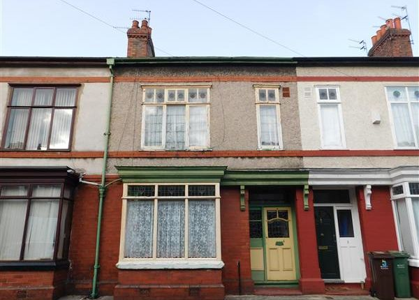 Thumbnail Terraced house for sale in Whalley Avenue, Whalley Range, Manchester