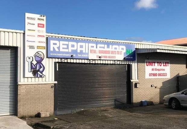 Thumbnail Warehouse to let in Unit 22M Pennybridge Industrial Estate, Ballymena, County Antrim
