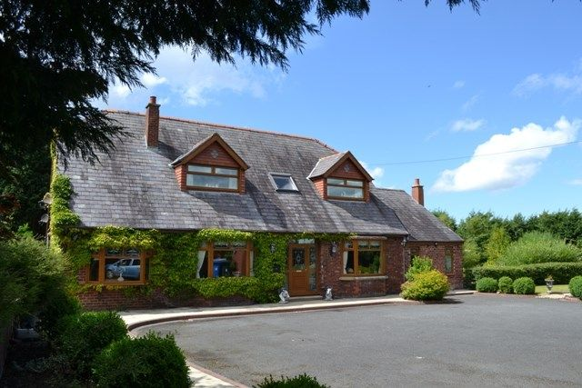 Thumbnail Detached house for sale in Flag Lane, Leyland