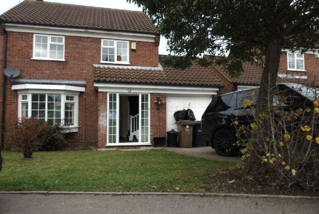 Thumbnail Detached house to rent in Milverton Green, Luton
