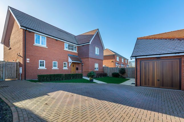 Thumbnail Detached house for sale in Langland Place, Roydon