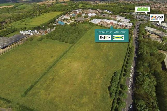 Thumbnail Land for sale in Sweet Briar Road, Norwich, Norfolk