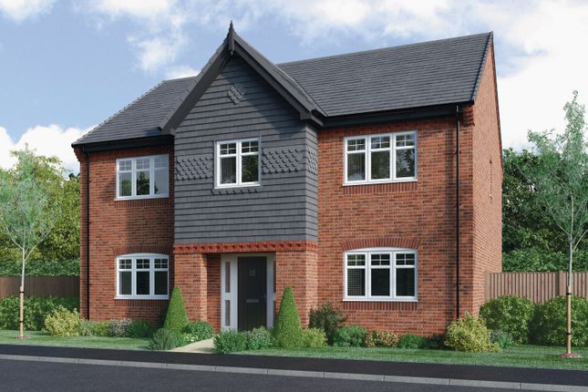 Thumbnail Detached house for sale in Charlesworth At Hackwood Park, Starflower Way, Derby