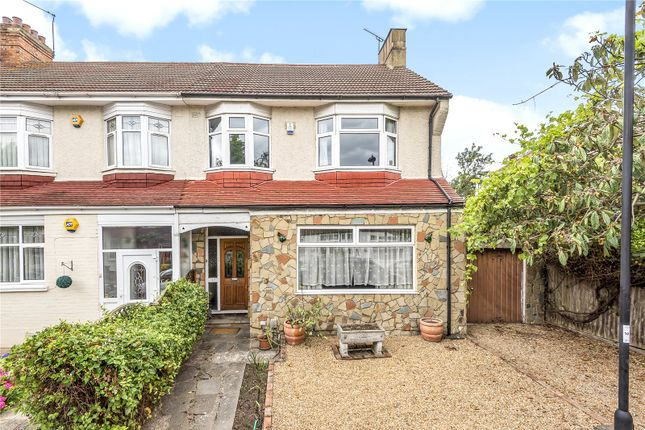 Thumbnail End terrace house for sale in Chimes Avenue, Palmers Green, London