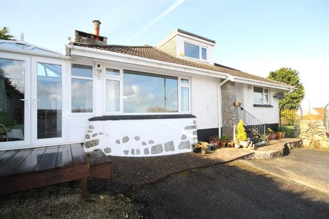 Thumbnail Detached bungalow for sale in Lestraynes Lane, Rame Cross, Nr Penryn