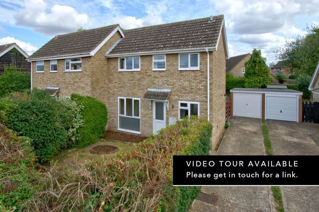 Thumbnail Semi-detached house for sale in Hollytrees, Bar Hill, Cambridge