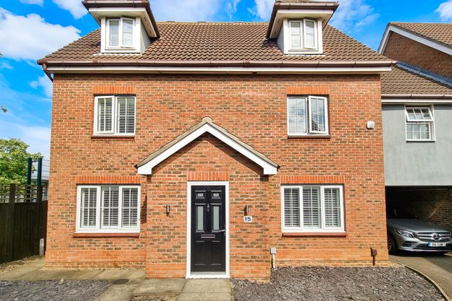 5 bed link-detached house for sale in Harper Close, Chafford Hundred, Grays RM16