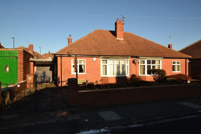 2 bed semi-detached bungalow for sale in Manor Gardens, Longbenton, Newcastle Upon Tyne