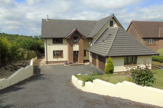 Thumbnail Detached house for sale in Cynheidre, Llanelli