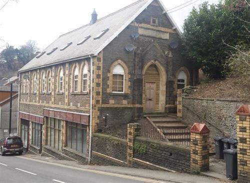 Thumbnail Flat for sale in Wesleyan Church, High Street, Llanhilleth.