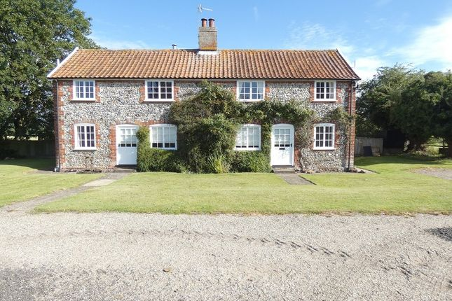Thumbnail Detached house to rent in Roudham, Norwich