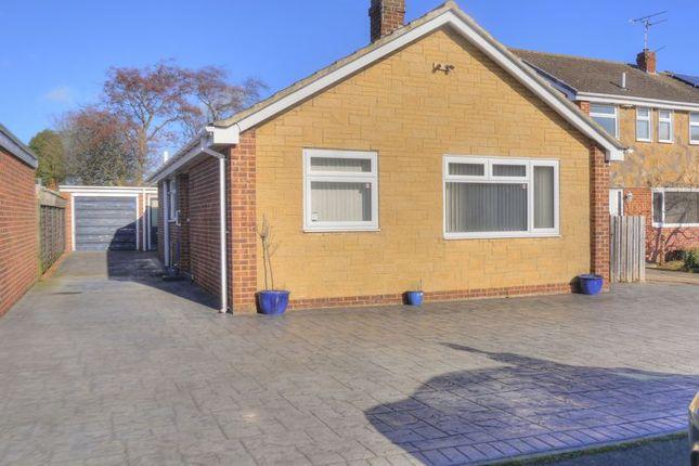 Thumbnail Detached bungalow for sale in Centurian Way, Bedlington