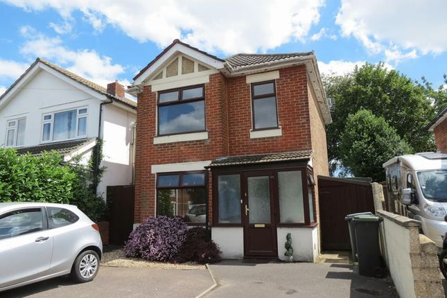 Thumbnail Detached house for sale in Rose Gardens, Winton, Bournemouth