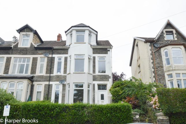 Thumbnail End terrace house for sale in Tyfica Road, Pontypridd