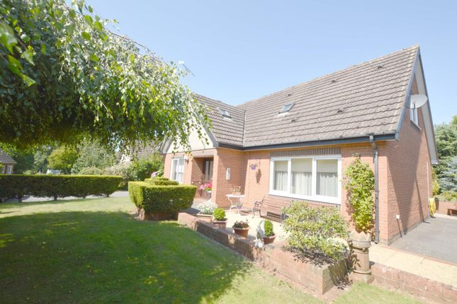 Thumbnail Detached bungalow for sale in Bungalow 5, Catthorpe Manor, Lilbourne Road, Catthorpe, Lutterworth