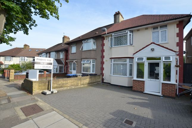 Thumbnail Semi-detached house to rent in St. James Gardens, Wembley, Middlesex
