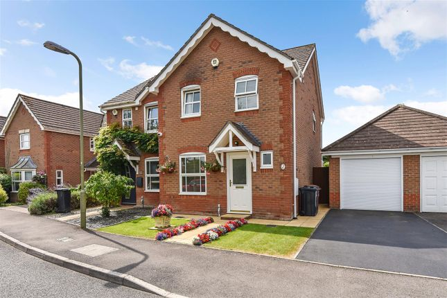 3 bed semi-detached house for sale in Topaz Drive, Andover SP10