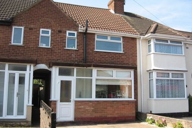 Thumbnail Terraced house to rent in Lyndon Road, Rubery, Rednal, Birmingham