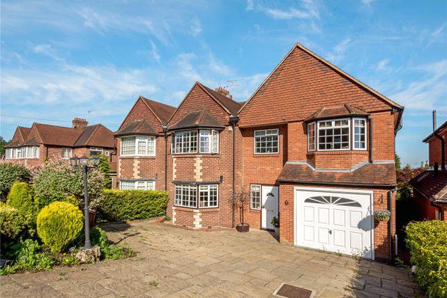 Thumbnail Semi-detached house for sale in Hillside, Banstead, Surrey