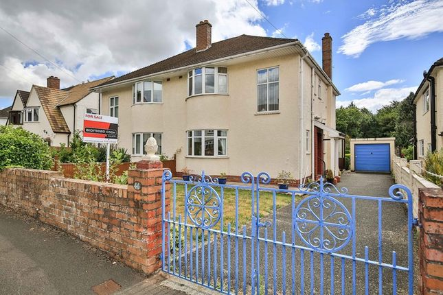 Thumbnail Semi-detached house for sale in Holywell Crescent, Abergavenny