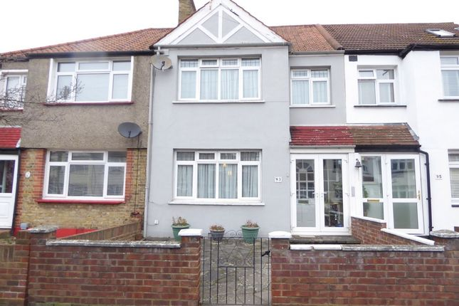 Thumbnail Terraced house for sale in Sherwood Park Road, Mitcham