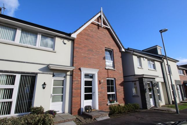 Thumbnail Terraced house for sale in Bridgelea Crescent, Conlig, Newtownards