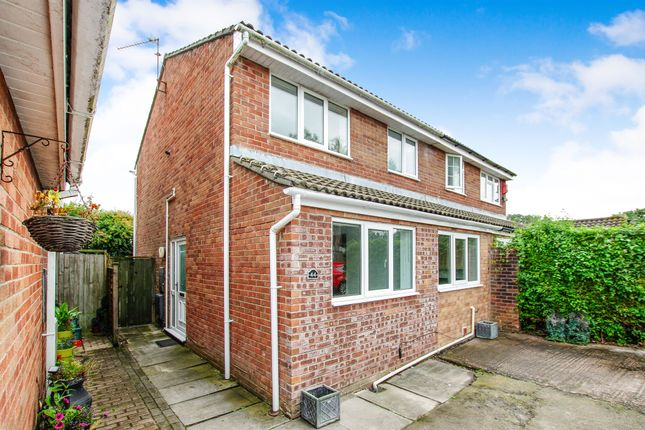 Thumbnail Semi-detached house for sale in The Pastures, Barry