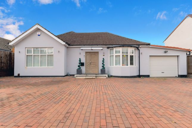 Thumbnail Detached bungalow for sale in Polwell Lane, Barton Seagrave, Kettering