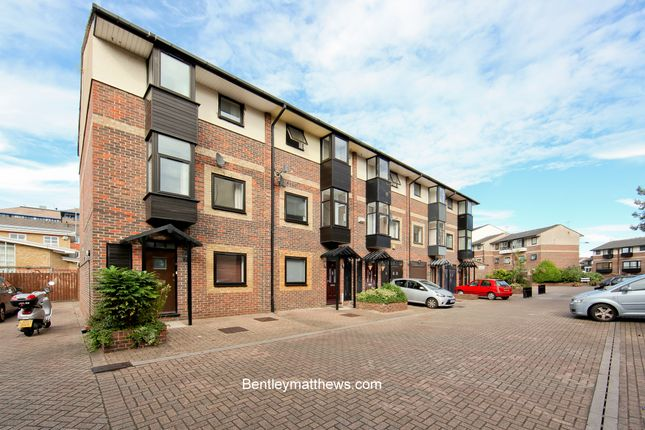 Thumbnail End terrace house to rent in Ironmongers Place (Available September 2018), Docklands