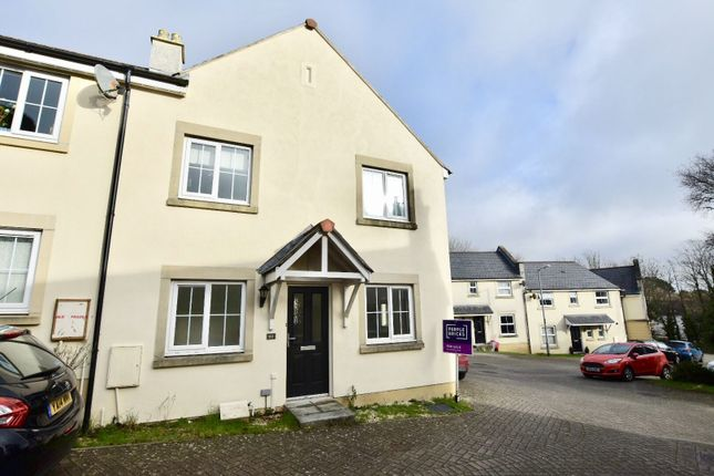 Thumbnail End terrace house for sale in College Way, Truro