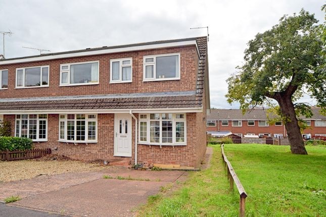 Thumbnail Semi-detached house for sale in Gate House Close, Cullompton