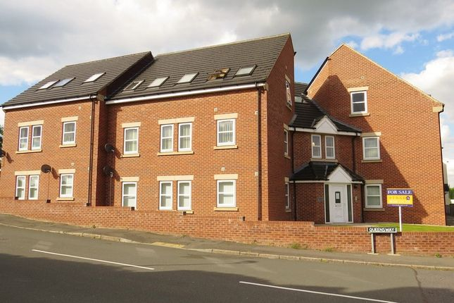 Thumbnail Flat for sale in Heath Road, Holmewood, Chesterfield