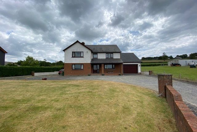 Thumbnail Detached house for sale in Llanllwni, Pencader