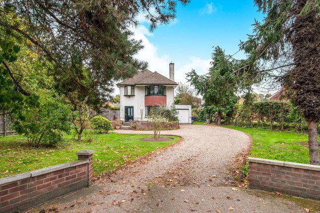 Thumbnail Detached house for sale in Fornham Road, Bury St. Edmunds