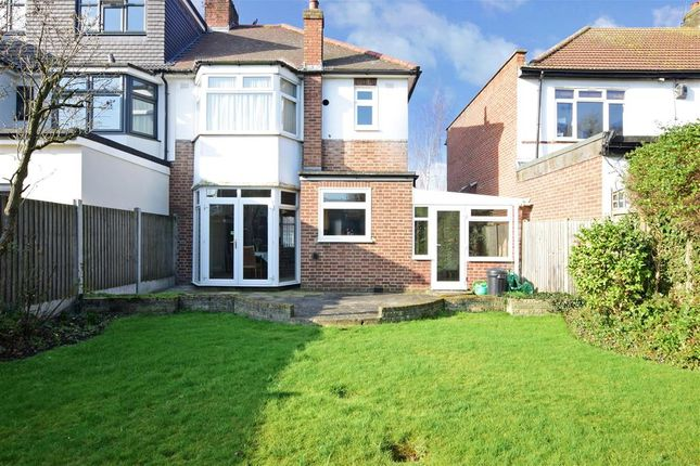 Semi-detached house for sale in Marlands Road, Clayhall, Essex