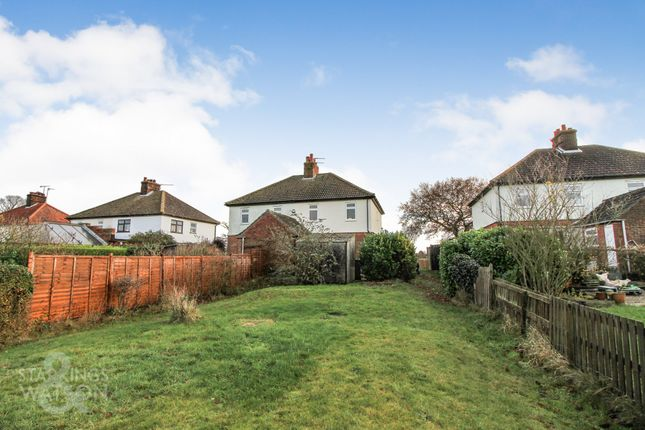 Thumbnail Semi-detached house for sale in Church Road, Reedham, Norwich
