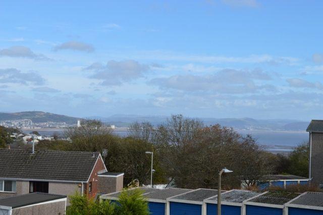 Thumbnail Flat to rent in Alderway, West Cross, Swansea