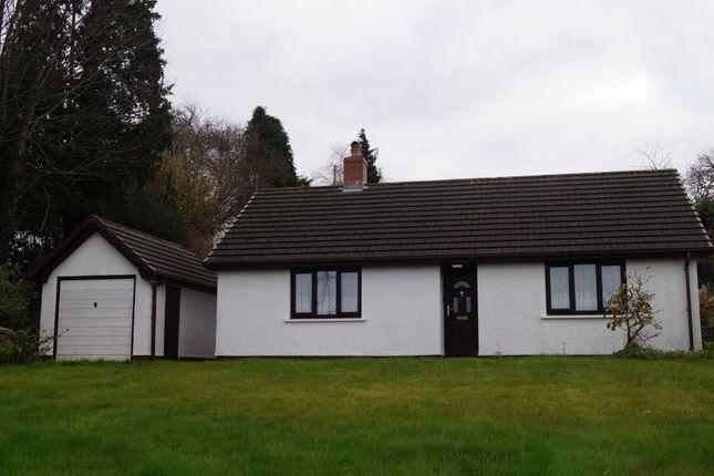 Thumbnail Detached bungalow for sale in Llangeler, Llandysul