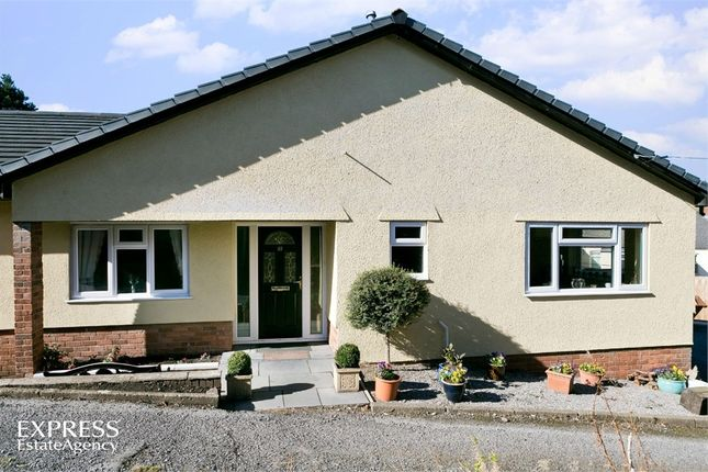 Thumbnail Detached bungalow for sale in Union Road West, Abergavenny, Monmouthshire