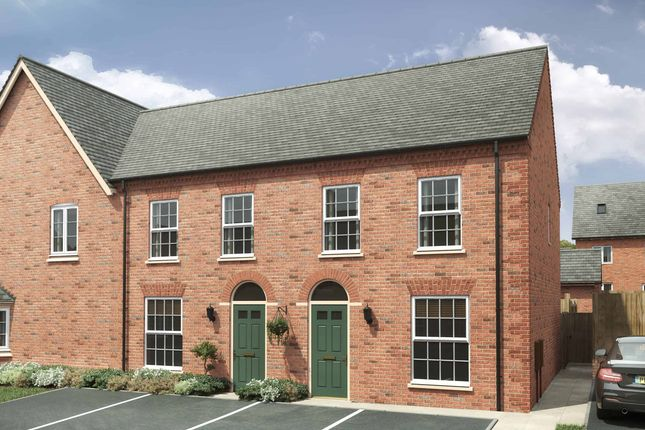"""3 bed semi-detached house for sale in """"The Thetford"""" at Northampton Road, Rushden NN10"""
