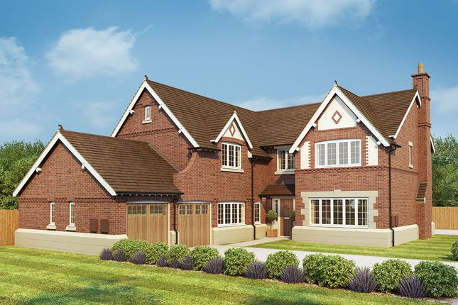 "Thumbnail Detached house for sale in ""Oak"" at Burcote Road, Towcester"