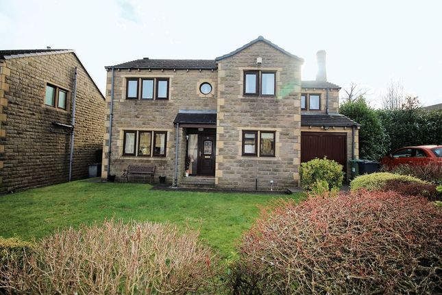 Thumbnail Detached house for sale in Scape View, Golcar, Huddersfield