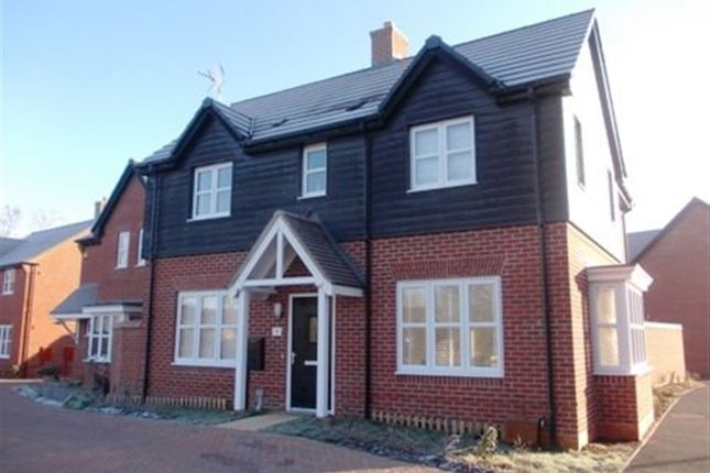 Thumbnail Semi-detached house to rent in Lelleford Close, Long Lawford, Rugby