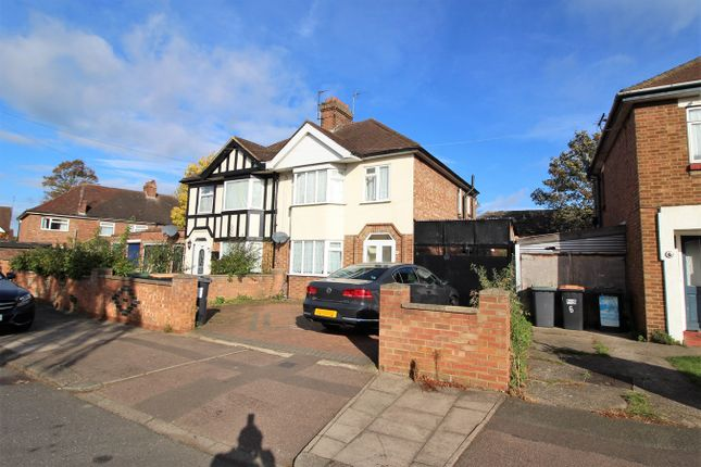 Thumbnail Semi-detached house to rent in Brackley Road, Bedford