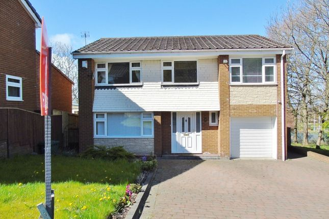 Thumbnail Detached house for sale in Shotley Gardens, Gateshead