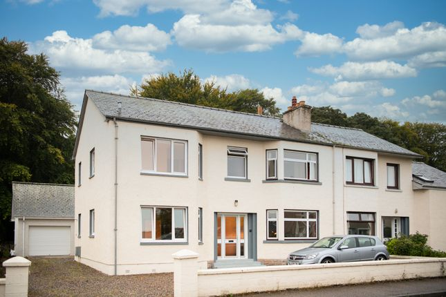 Thumbnail Semi-detached house for sale in Manse Road, Nairn