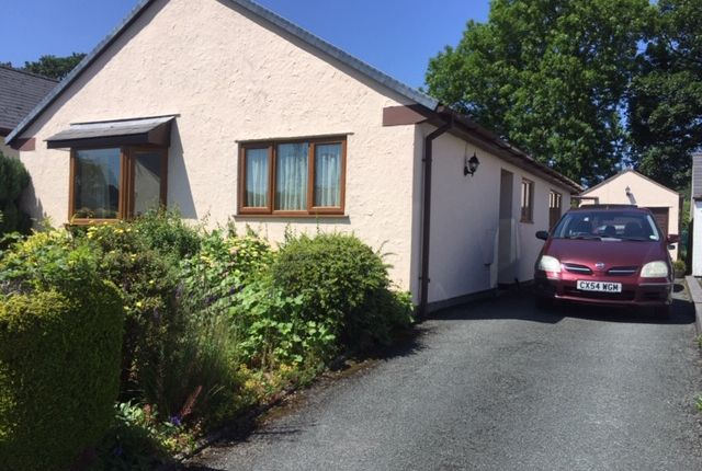 Thumbnail Detached bungalow for sale in Garreg Lwyd, Gwyddelwern