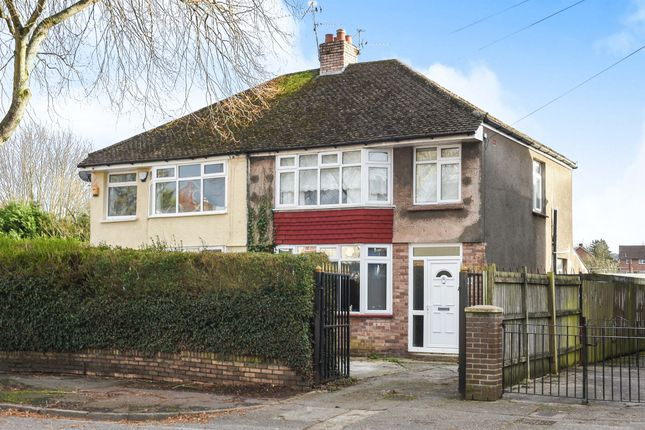 Thumbnail Semi-detached house for sale in Bwlch Road, Fairwater, Cardiff