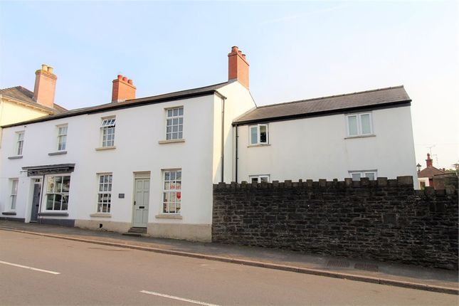 Semi-detached house for sale in High Street, Raglan, Usk